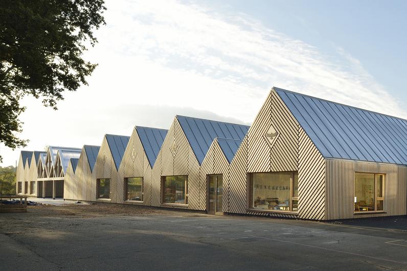 Tracks Architectes - Ecole maternelle la Ruche - Perthes-en-Gâtinais 77