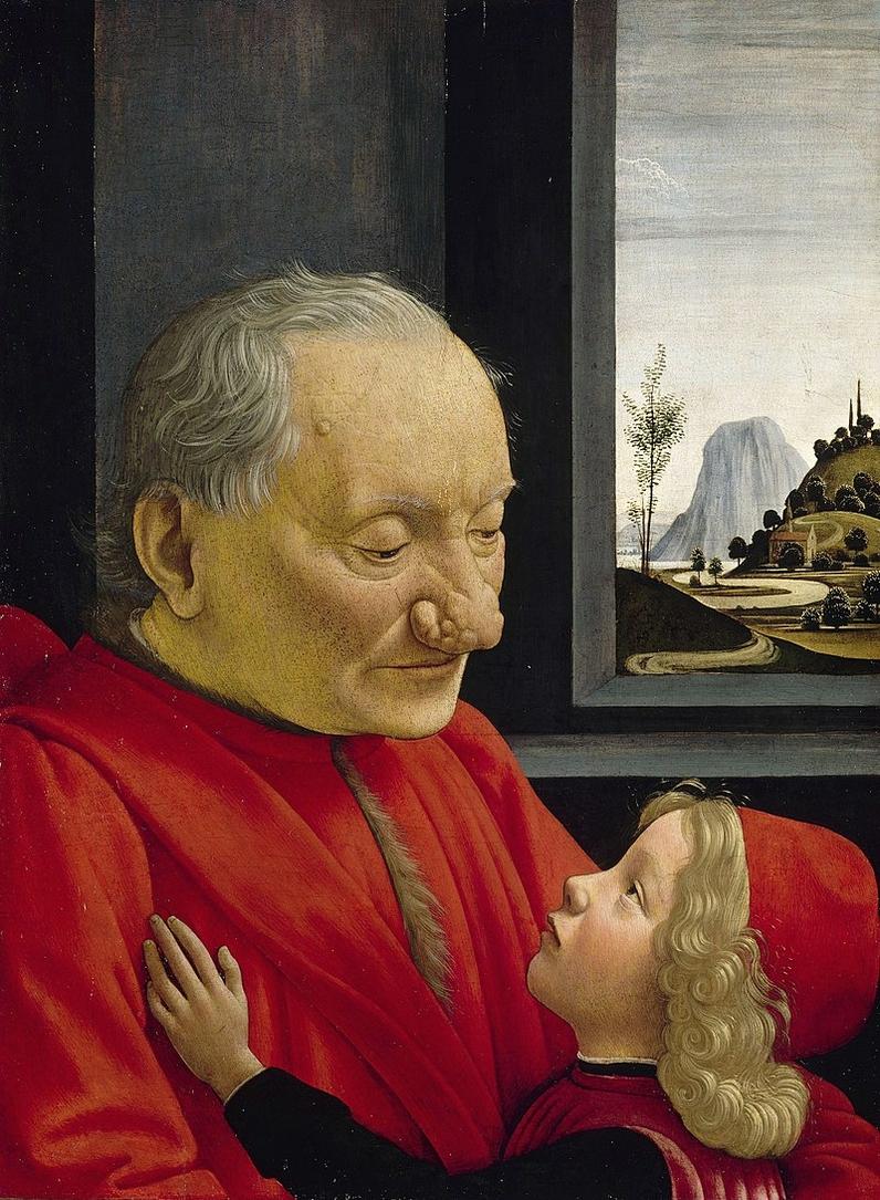 Portrait d'un vieillard et d'un jeune garçon