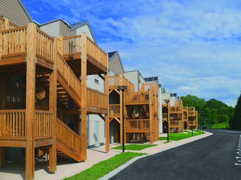 Résidence du Chanvre - 33 logements sociaux en ossature bois