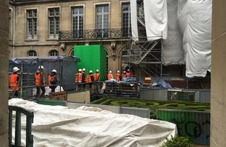 75 PFP visite chantier musée Carnavalet 2